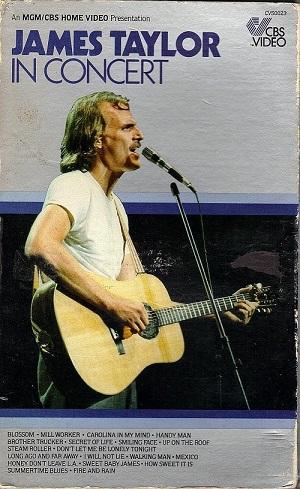 James Taylor: In Concert - 1979 - VHS