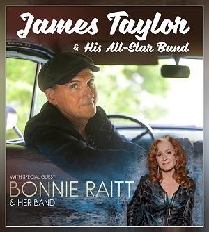 JT and Bonnie Raitt 2017