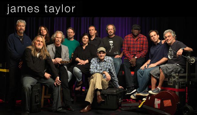 James Taylor and Band, Summer 2014