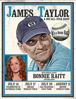 James Taylor 2017 Ballpark Tour