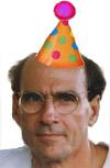 Festive JT In Party Hat