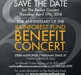 Rainforest Benefit 2014