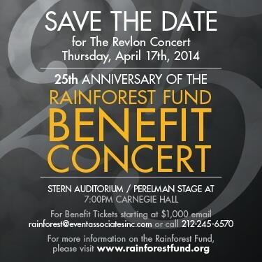 Rainforest Benefit 2014